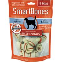 Petmatrix - Smartbones - Sweet Potato - Mini/8 Pack