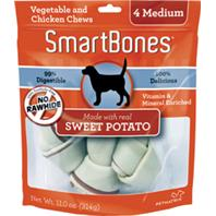 Petmatrix - Smartbones - Sweet Potato - Medium/4 Pack