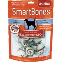 Petmatrix - Smartbones - Sweet Potato - Mini/24 Pack