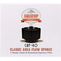 Aquatop Aquatic Supplies - Classic Aqua Flow Sponge Aquarium Filter -  Up To 40 Gallon