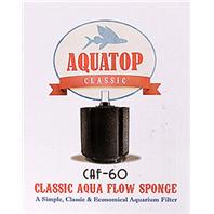 Aquatop Aquatic Supplies - Classic Aqua Flow Sponge Aquarium Filter -  Up To 60 Gallon