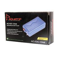 Aquatop Aquatic Supplies - Aquarium Air Pump - Blue - 2.5 L/Min