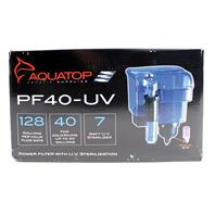 Aquatop Aquatic Supplies - Hang On Filter With Uv Sterilizer -  40 Gallon