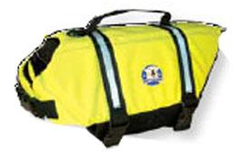 Fido Pet Products - Doggy Life Jacket - Yellow - Medium