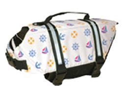 Fido Pet Products - Designer Doggy Life Jacket - Nauti Dog - Medium