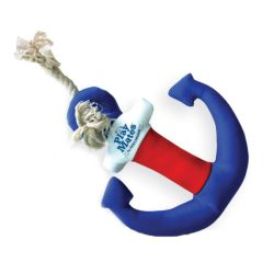 Fido Pet Products - Floating Anchor with throwing rope - Red/Blue - 10 Inch