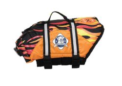 Fido Pet Products - Designer Doggy Life Jacket-- Flames - Medium