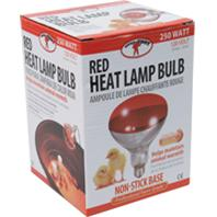 Miller Mfg - Poultry Heat Lamp Bulb - Red - 250 Watt