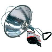 Miller Mfg - Reflector Brooder Lamp With Clam- Silver - 10.5