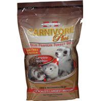 Marshall Pet - Carnivore Plus High Protein Ferret Diet - 3.5 Lb