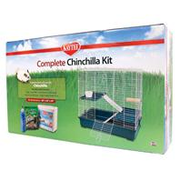 Super Pet - Kaytee Complete Chinchilla Kit - 31x6.5x18.5 Inch