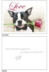 DogTales4You - Max Rose Card #19 - 5x7 Inch