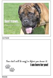 DogTales4You - Rusty Wrinkles Card # 27- 5x7 Inch