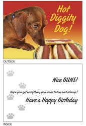 DogTales4You - Roxy Buns Card #29 - 5x7 Inch