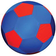 Horsemens Pride - Mega Ball Soccer Ball Cover - Blue/Red - 40 Inch