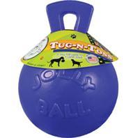 Horsemens Pride - Tug-N-Toss Ball - Blue - 6 Inch