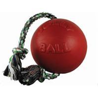 Horsemens Pride - Romp-N-Roll Ball - Red - 8 Inch