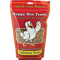 Durvet - Happy Hen - Mealworm Frenzy Chicken Treat - 10 Oz