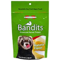 Marshall Pet - Bandits Ferret Treat - Banana - 3 oz