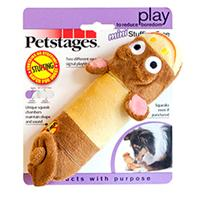 Petstages - Lil Squeak Monkey - Brown - Small