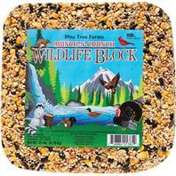 Pine Tree Farms - Munch-N-Crunch Wildlife Block - 15 Lb