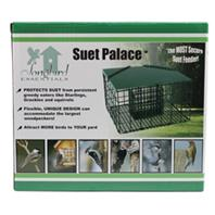 Birdquest/Songbird - Squirrel Resistant Suet Palace - Green - 1 Suet Cake