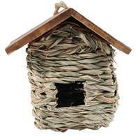 Birdquest/Songbird - Hanging Grass Roosting Pocket With Roof
