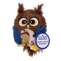 Ethical Dog - Spot Hoots Owl Plush Squeaker Dog Toy - Assorted - 3