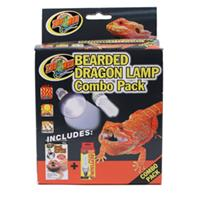 Zoo Med - Bearded Dragon Lamp Combo Pack -  75 Watt / 13 Watt