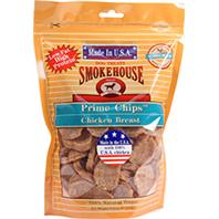 Smokehouse Dog Treats - Usa Prime Chips Dog Treats Resealable Bag - Chicken Breast - 8 oz
