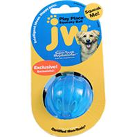 JW Pet - Play Place Squeaky Ball - Assorted - Small