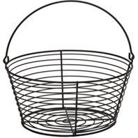 Miller Mfg  - Little Giant Egg Basket - Black - Large