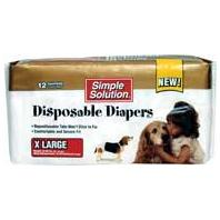 Bramton - Pupsters Disposable Diapers - White - X-Large/12 Pack