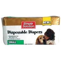 Bramton - Pupsters Disposable Diaper - Small/12 Pack