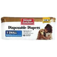 Bramton - Pupsters Disposable Diaper - X-Small/12 Pack