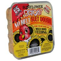 C AND S Products - Sunflower Delight No Melt Suet Dough - Sunflower - 11.75 oz