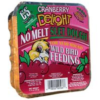 C AND S Products - Cranberry Delight Suet Dough - Cranberry - 11.75 oz