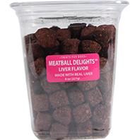 Triumph Pet - Meatball Delights Dog Treats - 8 oz
