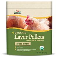 Manna Pro - Organic Layer Pellets Non-Gmo - Tan - 10 Lb