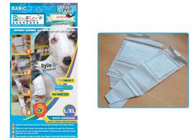 Pawflex - 2 Standard + 2 Wide Basic Bandages - Large-Xlarge - 1 Case