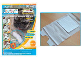Pawflex - 2 Universal / Joint Bandages - XXsmall-Xsmall - 1 Case