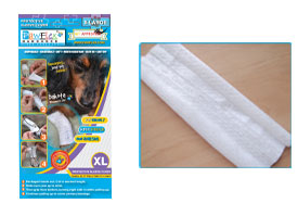 "Pawflex - 3 Protecto/Cover strips each 12"" long Yields up to 9 covers - Xlarge - 1 Case"
