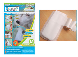 Pawflex - Opp Bag MediMitt Cover - Medium - 1 Case