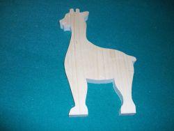 Fine Crafts - Wooden Standup Giraffe Jigsaw Puzzle