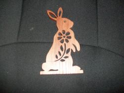 Fine Crafts - Wooden Handmade Bunny Rabbit