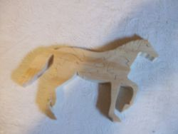 Fine Crafts - Wooden Horse Jigsaw Puzzle