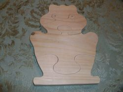 Fine Crafts - Wooden Frog Jigsaw Puzzle