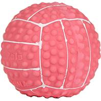 Coastal Pet Products - Li L Pals Latex Volleyball Dog Toys - Pink - 2 Inch