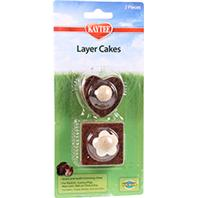 Super Pet - Chew Toy Layer Cakes - 2 Pack