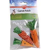 Super Pet - Chew Toy Carrot Patch - 3 Piece
